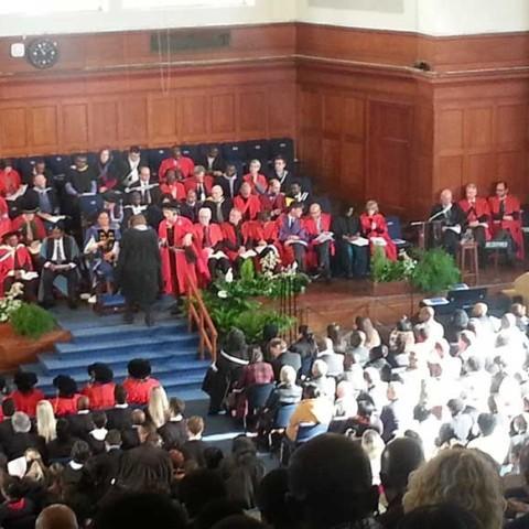 UCT Graduations December 2015